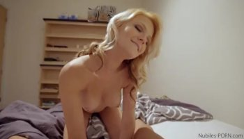 Erina Rides A Hard Cock In The Living Room